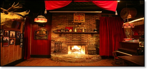 The Riptide, San Francisco - cozy fireplace, honest drinks